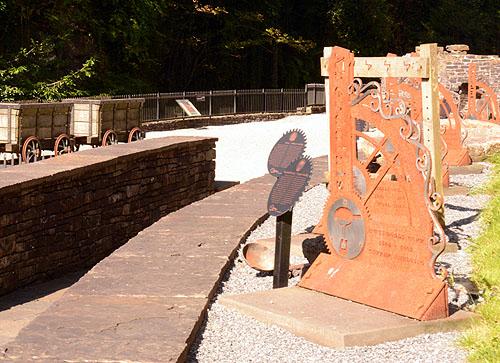 Aberdulais Tin Works Entrance