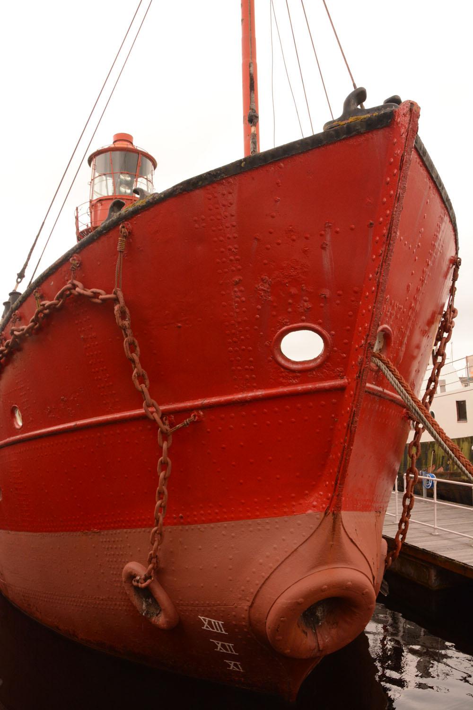 Lightship Swansea Harbour