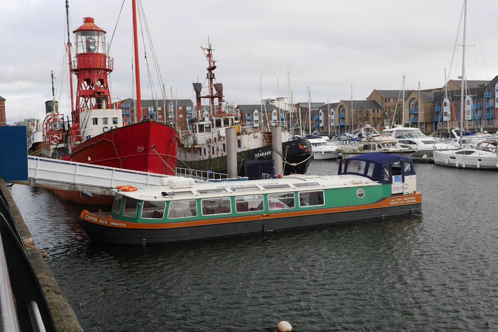 CopperJack Tour Boat