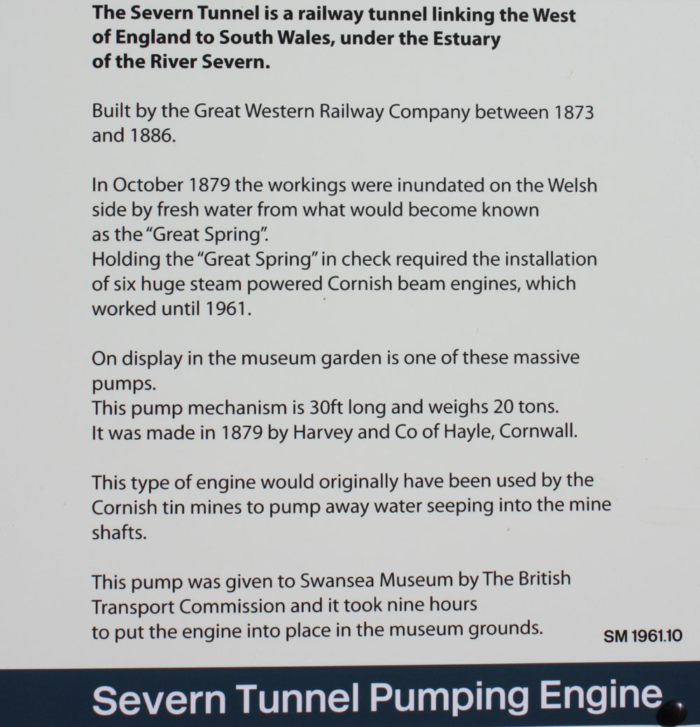 Severn Tunnel Pumping Engine